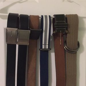 Belts collection tommy gap express perry Ellis